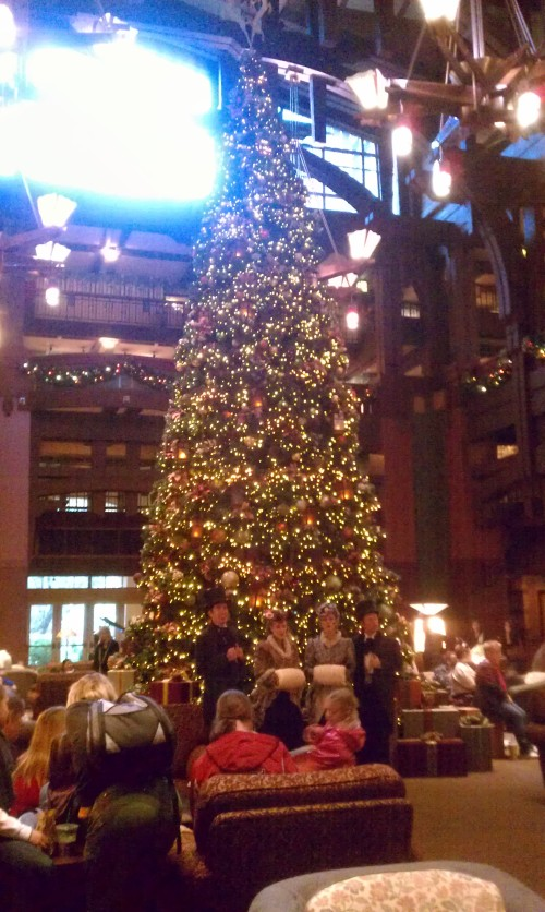 The Lobby of the Grand Californian Hotel at Disneyland